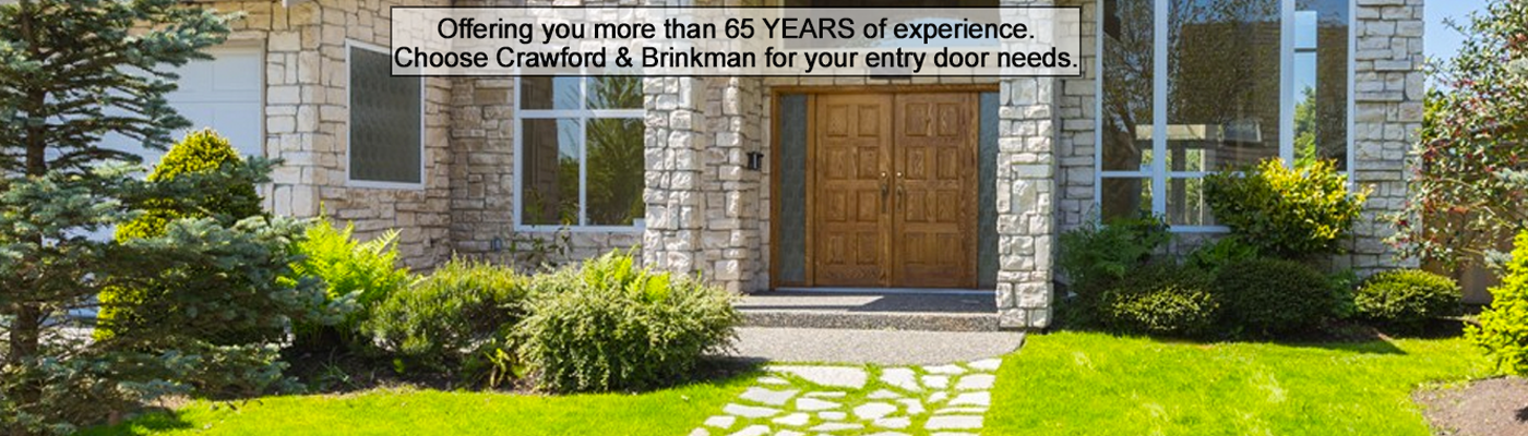Welcome to Crawford & Brinkman Door & Window Co