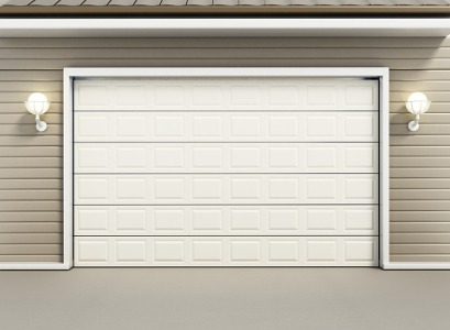 The finished product of Garage Door Installation in Bloomington IL