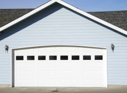 A garage door installed by Garage Door Companies in Bloomington IL