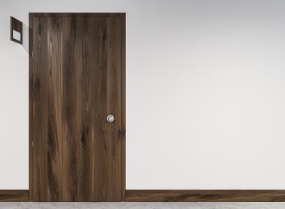 Dark wood Strek-O Office Doors
